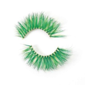 Colorful mink lashes vendor CD26
