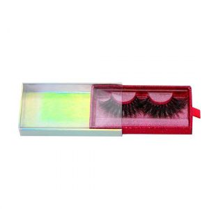 buy holographic drawer lashes packaging in bulk