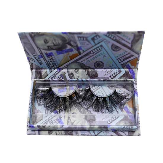 USD luxury lashes packaging