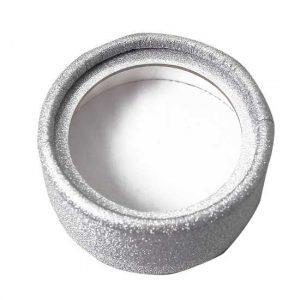 Wholesale Silver glitter lash cases