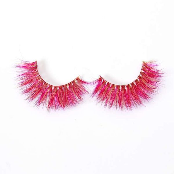 Wholesale colored mink lash CD21