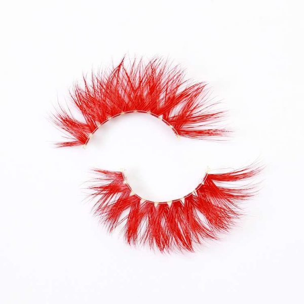 Wholesale colorful mink eyelashes CD18