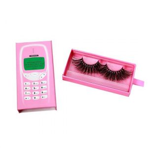 Wholesale telephone drawer eyelash packaging
