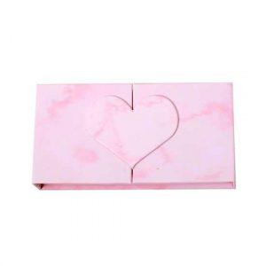 wholesale cute pink eyelash packaging