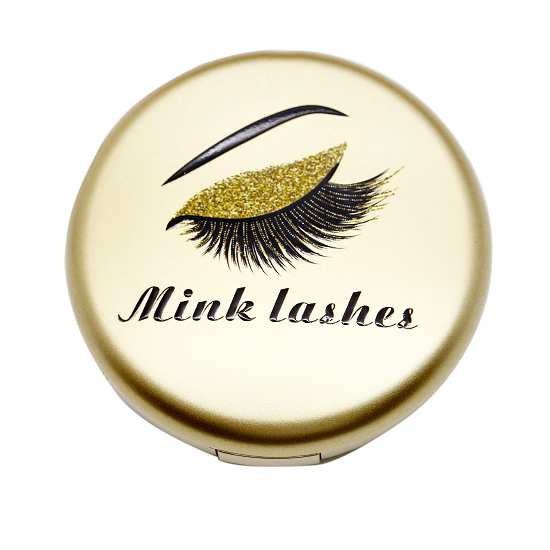 cheap gold lashes cases