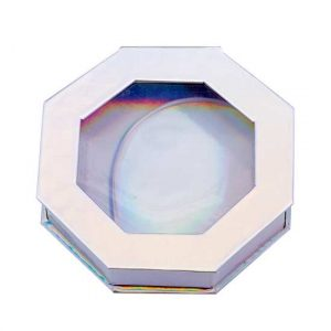 scintillating holographic orctagon lashes boxes