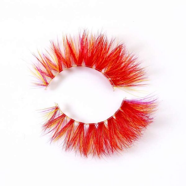 wholesale colored mink lashes CD98
